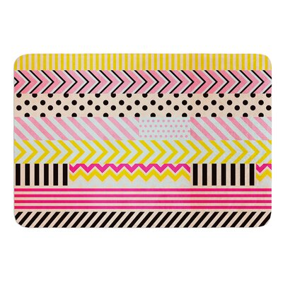 Decorative Tape by Louise Machado Bath Mat