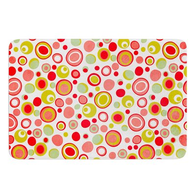 Bubbles by Louise Machado Bath Mat