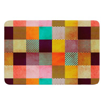 Decorative Pixel by Louise Machado Bath Mat