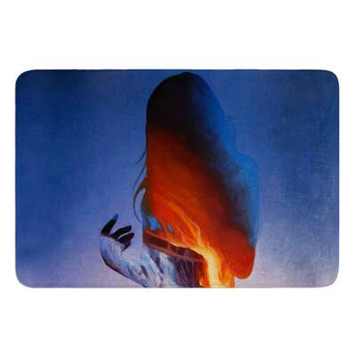 Volcano Girl by Lydia Martin Bath Mat