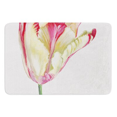 Tip Tulip by Lydia Martin Bath Mat