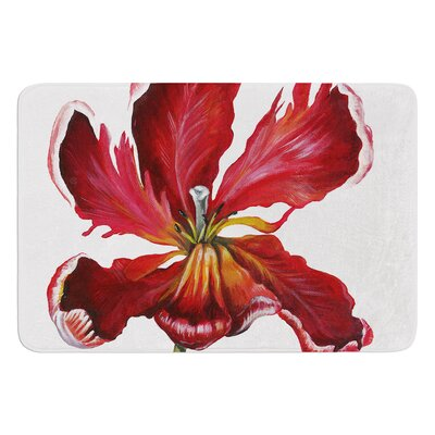 Open Tulip by Lydia Martin Bath Mat