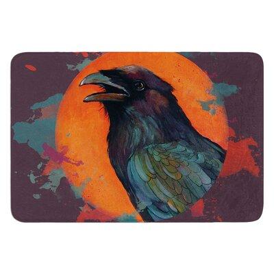 Raven Sun Alternate by Lydia Martin Bath Mat
