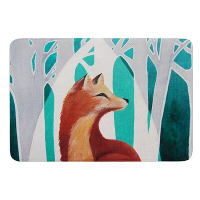 Fox Forest by Lydia Martin Bath Mat