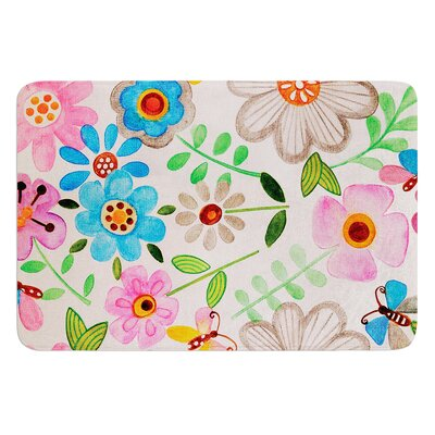 The Garden by Louise Machado Bath Mat