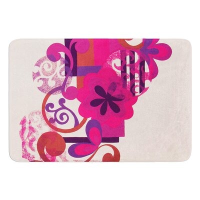 Lilac by Louise Machado Bath Mat