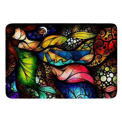 Sleep and Awake by Mandie Manzano Bath Mat