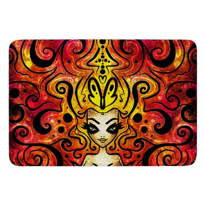 She Devil Full by Mandie Manzano Bath Mat