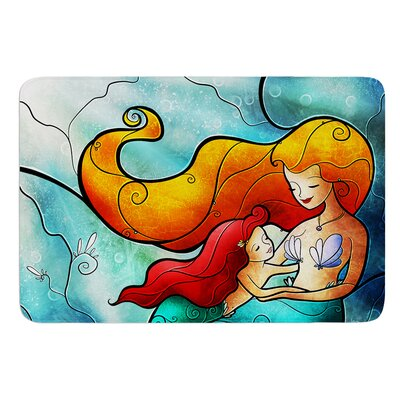 I Remember Love by Mandie Manzano Bath Mat