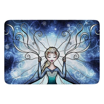 The Snow Queen by Mandie Manzano Bath Mat