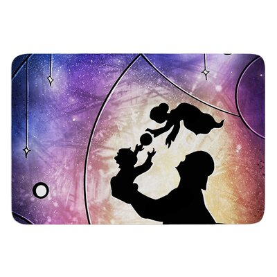 Fathers Day by Mandie Manzano Bath Mat
