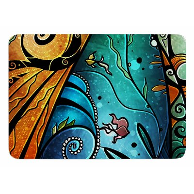 You Must Believe by Mandie Manzano Bath Mat