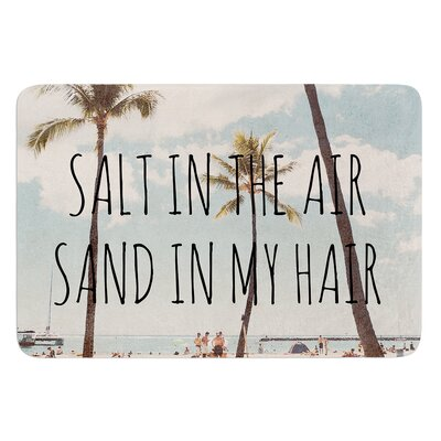 Salt in the Air by Nastasia Cook Bath Rug