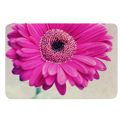 Pretty Daisy by Nastasia Cook Bath Rug