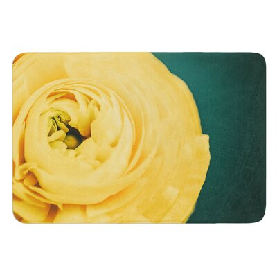 Yellow & Green by Nastasia Cook Bath Rug