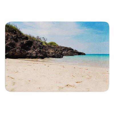 Hapuna Beach by Nastasia Cook Bath Rug