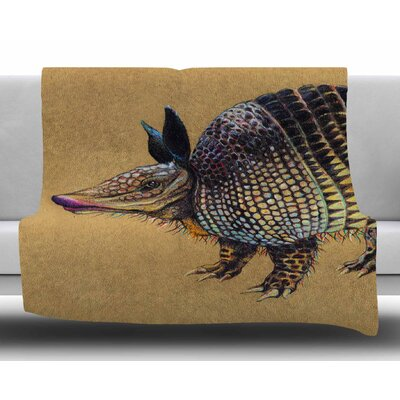 Aramadilio Alebrija by Sophy Tuttle Fleece Blanket