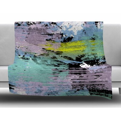Watercolor Texture by Vasare Nar Fleece Blanket