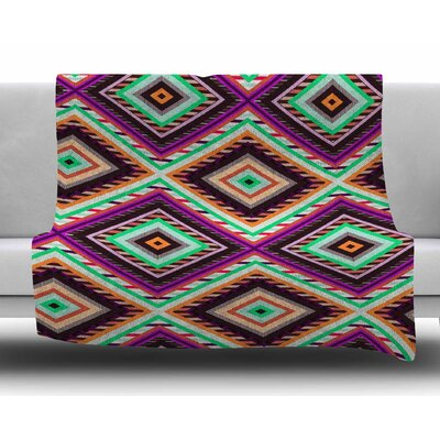 Boho Gipsy by Vasare Nar Fleece Blanket