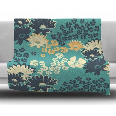 Bouquet by Zara Martina Mansen Fleece Blanket