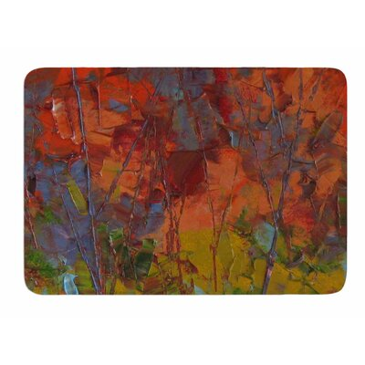 Fall Colours by Jeff Ferst Memory Foam Bath Mat Size: 24 L x 17 W