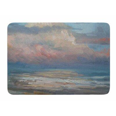 Pink Clouds by Carol Schiff Memory Foam Bath Mat Size: 24 L x 17 W