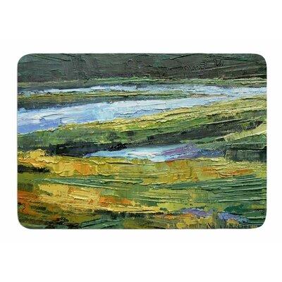 Southern Marsh by Carol Schiff Memory Foam Bath Mat Size: 24 L x 17 W