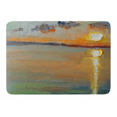 Reflections by Carol Schiff Memory Foam Bath Mat Size: 24 L x 17 W