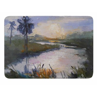 Florida Marshland by Carol Schiff Memory Foam Bath Mat Size: 24 L x 17 W