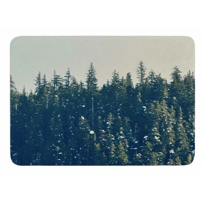 Take The Road Less Traveled by Robin Dickinson Memory Foam Bath Mat Size: 24 L x 17 W