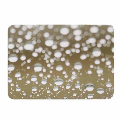 Neutral Rain by Kristi Jackson Memory Foam Bath Mat Size: 36 L x 24 W