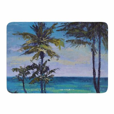 Room with a View by Carol Schiff Memory Foam Bath Mat Size: 24 L x 17 W
