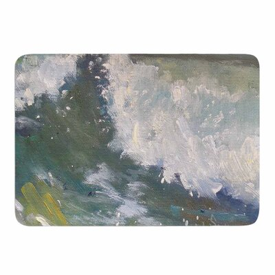The Crest by Carol Schiff Memory Foam Bath Mat Size: 24 L x 17 W