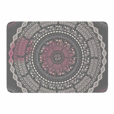 Culture Cut Boho Mandala by Famenxt Memory Foam Bath Mat Size: 24 L x 17 W