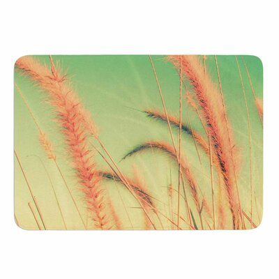 Dancing in Spring by Graphic Tabby Memory Foam Bath Mat Size: 24 L x 17 W