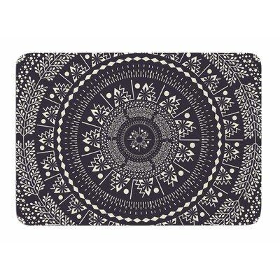 Swadesi Boho Mandala by Famenxt Memory Foam Bath Mat Size: 36 L x 24 W