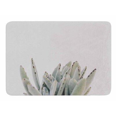 Succulent 3 by Kristi Jackson Memory Foam Bath Mat Size: 24 L x 17 W
