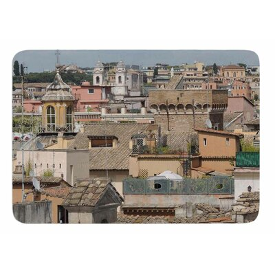 Florence Italy Hillside by Nick Nareshni Memory Foam Bath Mat Size: 24