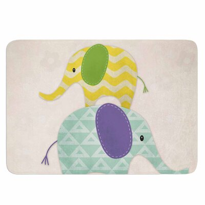 Balancing Act by Noonday Design Memory Foam Bath Mat Size: 24 L x 17 W