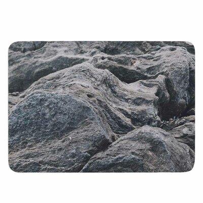 Stone Landscape by Will Wild Memory Foam Bath Mat Size: 24 L x 17 W