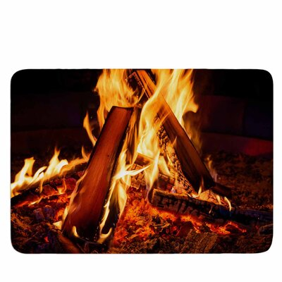 Summer Nights Memory Foam Bath Mat Size: 36 L x 24 W