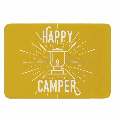 Happy Camper by Jackie Rose Memory Foam Bath Mat Size: 36