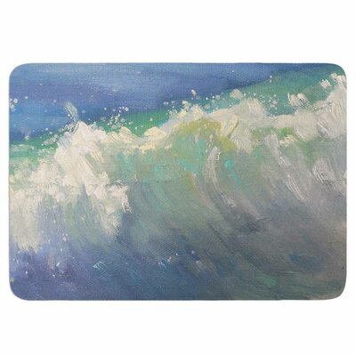 Caribben by Carol Schiff Memory Foam Bath Mat Size: 36