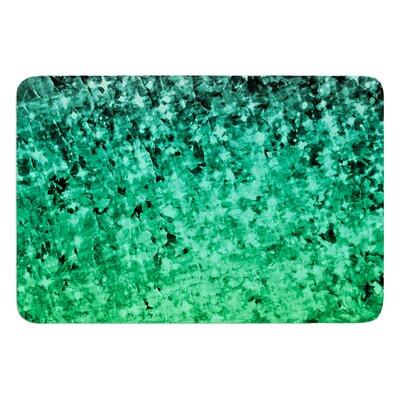 Romance Me Green by Ebi Emporium Memory Foam Bath Mat Size: 24 L x 17 W