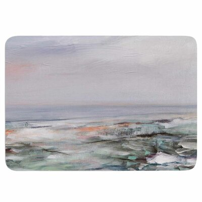 Coastal Scenery by Iris Lehnhardt Memory Foam Bath Mat Size: 24 L x 17 W