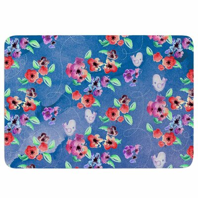 Signs of Spring by Zara Martina Mansen Memory Foam Bath Mat Size: 36 L x 24 W