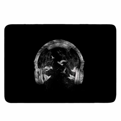 Headphone by BarmalisiRTB Memory Foam Bath Mat Size: 36 L x 24 W