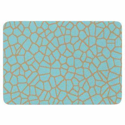 Staklo III by Trebam Memory Foam Bath Mat Size: 24 L x 17 W