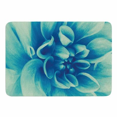 Blue Beauty by Graphic Tabby Memory Foam Bath Mat Size: 36 L x 24 W