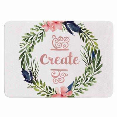 Create Memory Foam Bath Mat Size: 36 L x 24 W